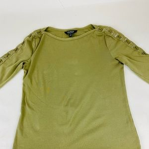 LaurenRalphLauren-Long Sleeves T shirt. Medium